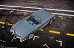 1960 Chevrolet Corvette by melkorius