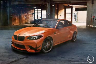 2016 BMW AC Schnitzer M2 Coupe by melkorius