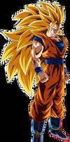 Goku (Super Saiyan 3) by TheTabbyNeko