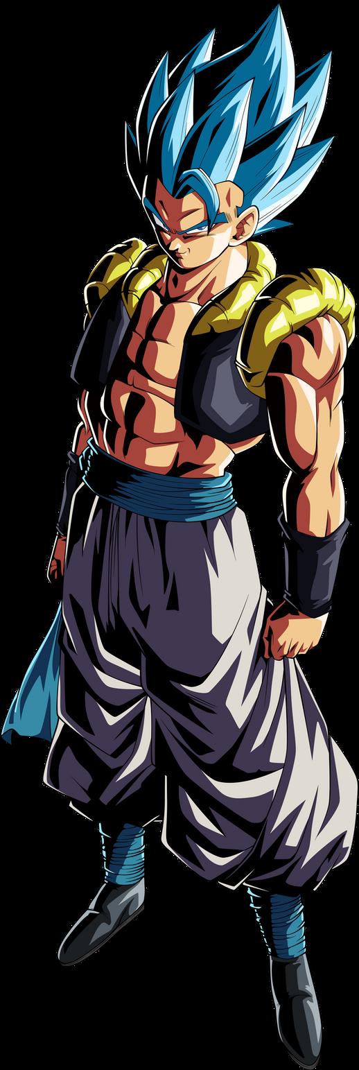 Gogeta (Super Saiyan Blue) Legends Palette by TheTabbyNeko ...