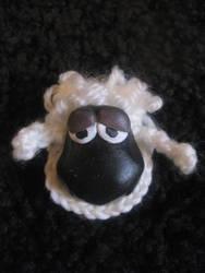 Sheep Brooch by CrochetWorkshop