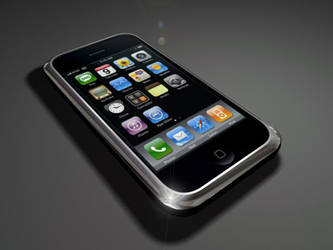 Original Iphone 3ds max by 5h4dow