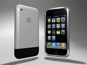 Original Iphone 2 - 3ds max by 5h4dow