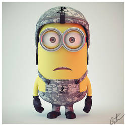 Minion Post deviant by 5h4dow