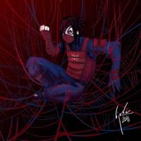 Manga Spiderman by bloodcult
