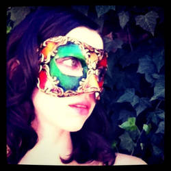 Venetian Mask series 10 by MoonfootGamgee
