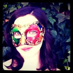 Venetian Mask series 15 by MoonfootGamgee
