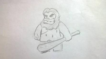 Caveman #1 by gritsenkobiz