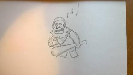 Caveman #3 by gritsenkobiz