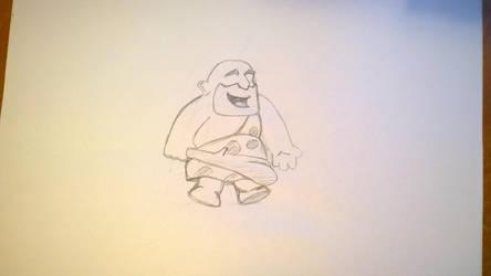 Caveman #6 by gritsenkobiz