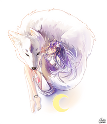 Commission: Okami by KidCurious
