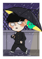 [FA] Mob Psycho 100 || Shigeo Kageyama by skele-tea