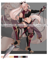 [Adopts] Fighter    USD/AUC   Closed by skele-tea
