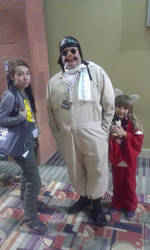 Me  Porco Rosso, and an adorable little inuyasha^^ by XxGothic-AngelxX