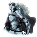 OC - Speedpaint Knight by Paleblood