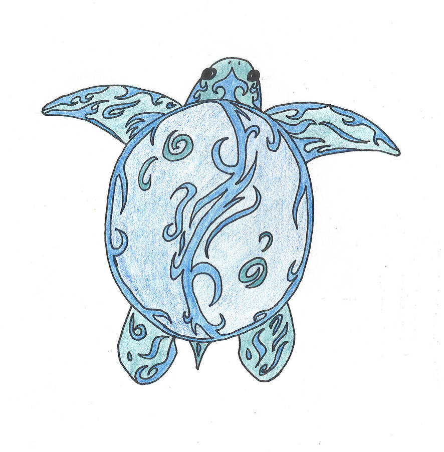Yin Yang Turtle Tattoo By Whimsysmile On Deviantart