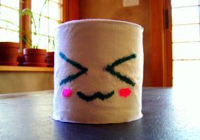 Toilet Paper Roll by SatsukiHayashi