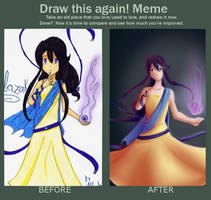 Draw this again meme by Albaharu