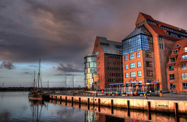 old port of rostock by TomBrueck