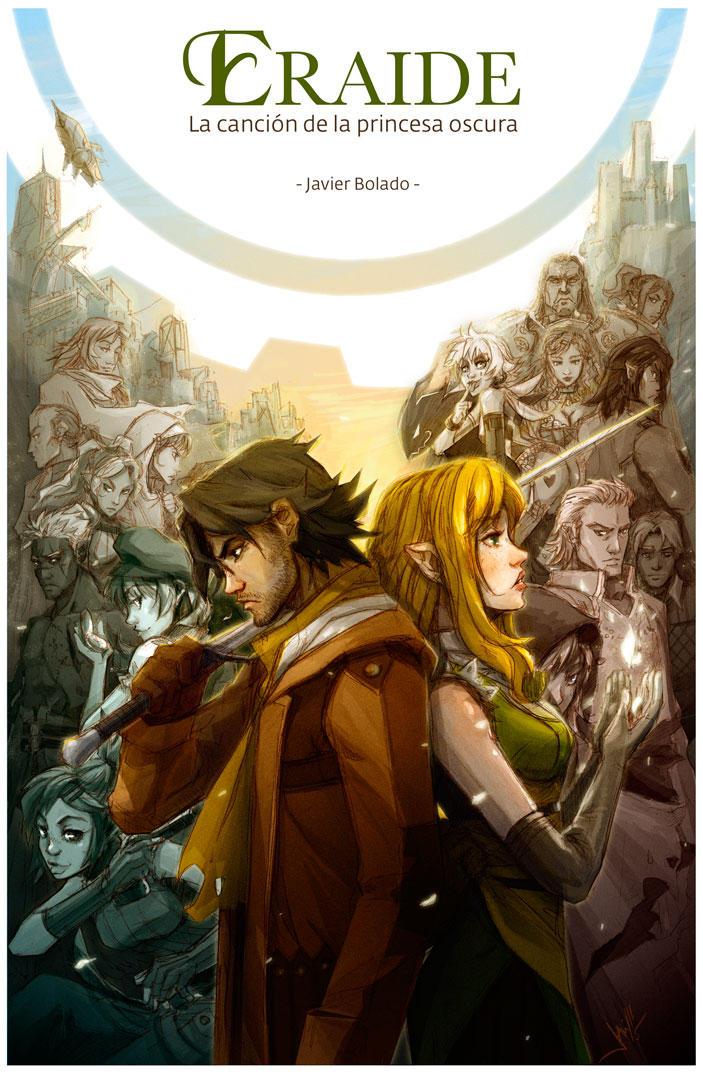 Eraide, book1 cover by javierbolado