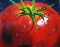 Veggie Series++Tomato by alicia-utyj