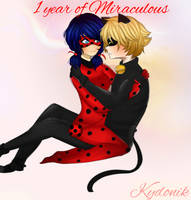 1 year of Miraculous by Kydonik