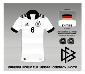 2014 Germany National Football Team Shirt : Home by Muums