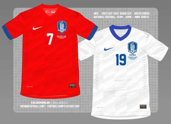Nike : 2013-2014 : Korea Republic : Home Shirt by Muums