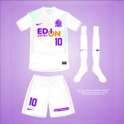Nike : 2014 : Sanfrecce Hiroshima Away Shirt by Muums