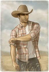 Ranch Hand Derek by maichan-art