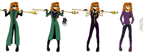TB Character Profile: Conundrum Girl by Si1verwing