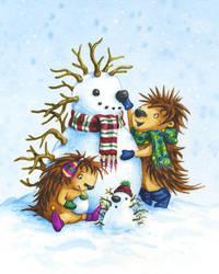 2008 Christmas Card by Isynia-Artessa