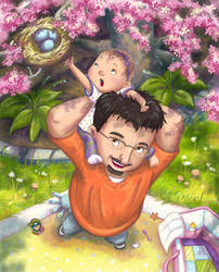 Happy 1st Father's Day by Isynia-Artessa