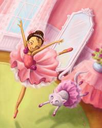 Graceful Ballerina by Isynia-Artessa