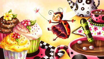 Ladybug Picnic by Isynia-Artessa
