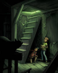 Mystery in the Attic by Isynia-Artessa