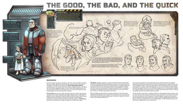 Hetherev: The Good, the Bad, and the Quick by DamnTorren