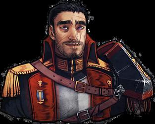 Commissar Talon Gunner by DamnTorren