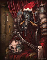 Magos with Skull by DamnTorren