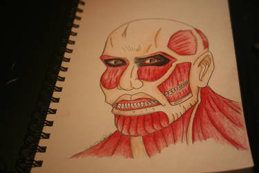 Colossal Titan by DreamCatcher1247