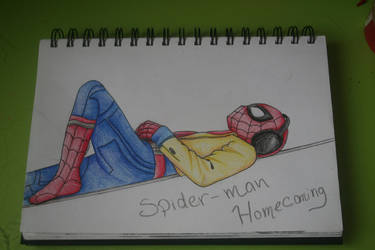 Spider-Man homecoming by DreamCatcher1247