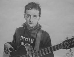 Jason Mraz Portrait by Shouclak