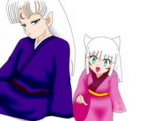 Maru's Children by SuzakuFire101