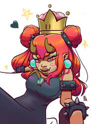 Bowsette by reemofabulous