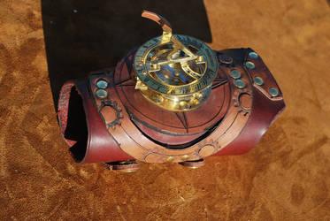 Manual Sundial watch by Bluebenu