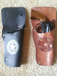 Holster cap gun by Bluebenu