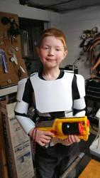 Storm trooper armor by Bluebenu
