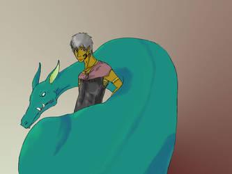 The dragon tamer by Felche