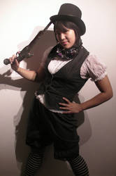 Steam punk summer outfit by Felche