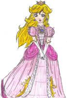 Princess Peach -bara no kaze- by Jago-Mizukami